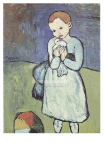 Picasso's Boy with a Dove
